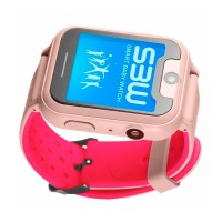 Смарт-часы с GPS детские Smart Baby Watch SBW X RU (розовые)
