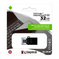 Флешка Kingston 32GB Data Traveler MicroDuo3 USB3.2/microUSB (DTDUO3G2/32GB)