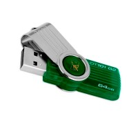 Флеш-накопитель Kingston DataTraveler DT101 G2 64GB, USB 2.0/3.0