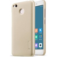 Чехол Nillkin Super Frosted Shield для Xiaomi Redmi 4 золотой